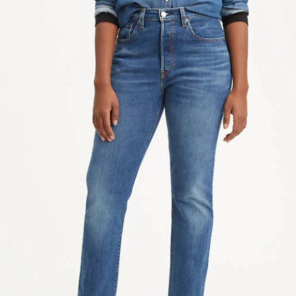 Levi S Jeans Levi 5 Original Fit Womens Jeans Poshmark The waistband sits between the hips and belly button for a flattering fit. poshmark
